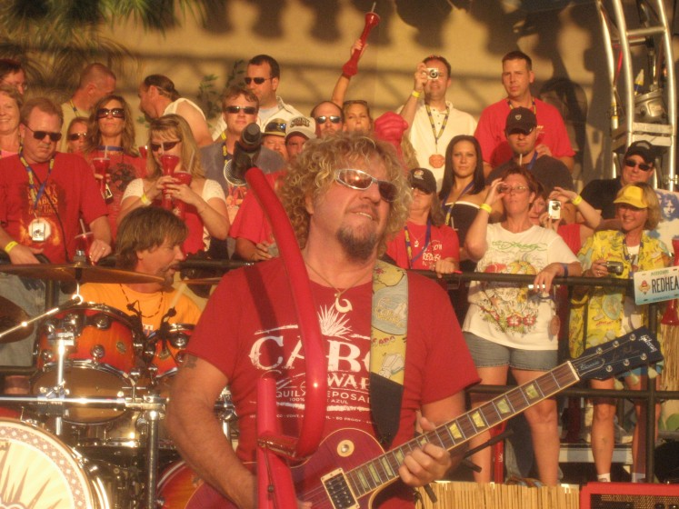David Lauser & Sammy Hagar