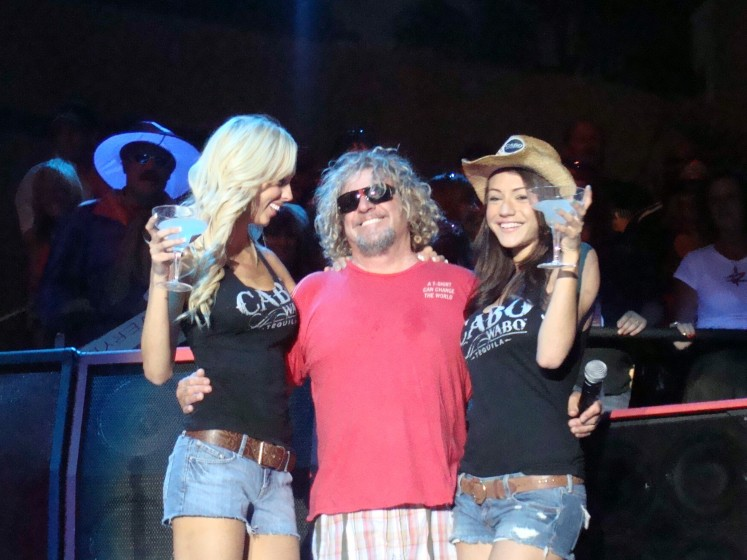 It's GOOD to be Sammy Hagar!!!