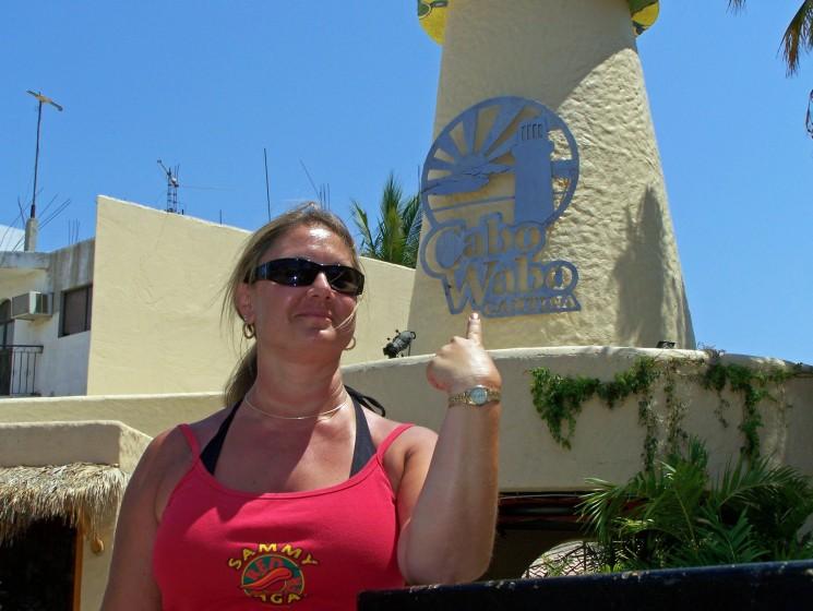 Me @ Cabo Wabo