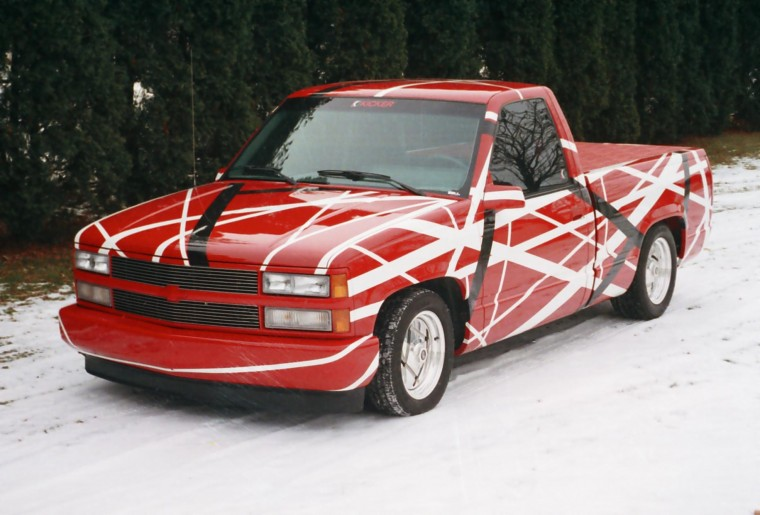 Eddie's Radical C-1500 Chevy