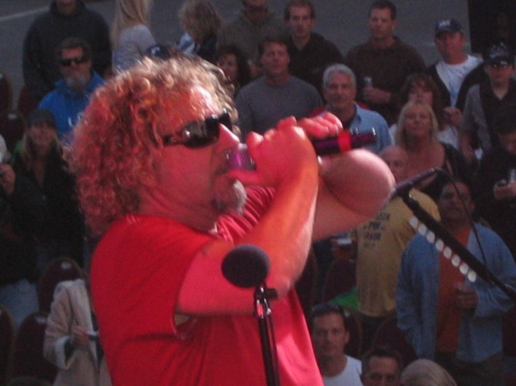 Sammy Hagar @ San Diego Fair in Del Mar