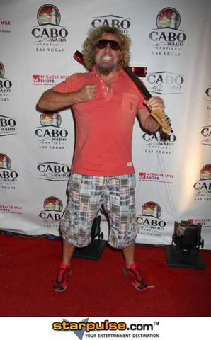 Sammy Hagar @ the Grand Opening of the Cabo Wabo Cantina in Las Vegas