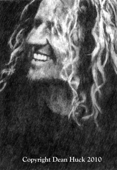 Sammy Hagar in Graphite by Dean Huck
