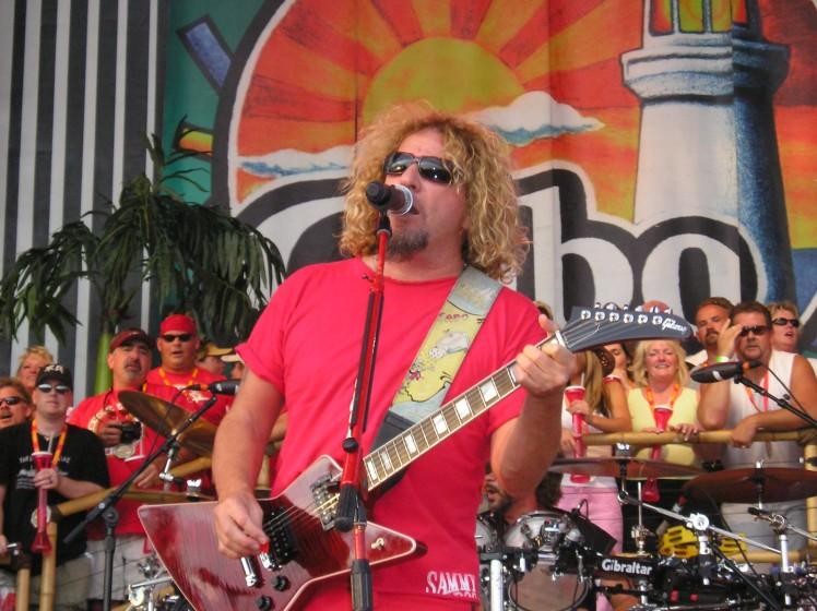 Sammy Hagar Boise 2006