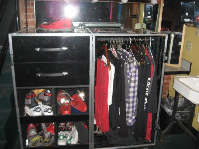 Sammy's wardrobe