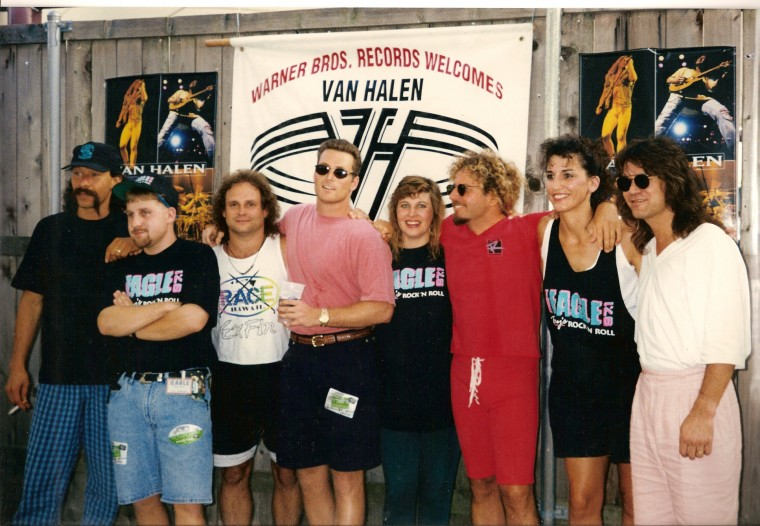 August 6, 1993 VanHalen in Dallas/Starplex