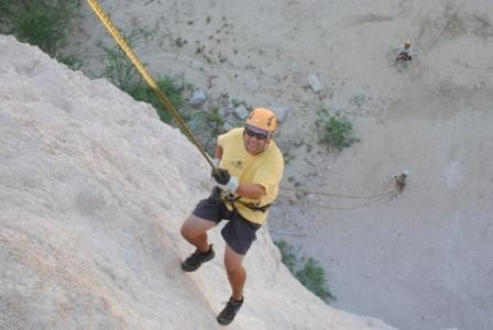 Rappelling in Cabo 10-9-10