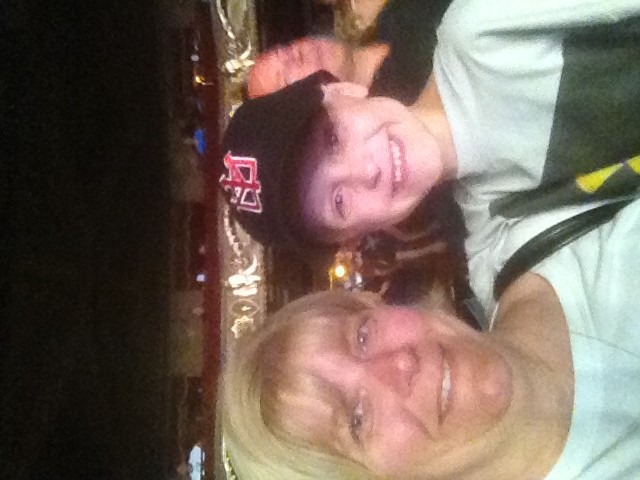 My son's first Chickenfoot concert