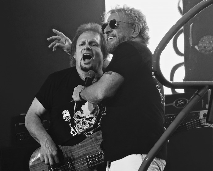 Michael Anthony & Sammy Hagar