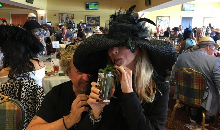 Full Weekend of Fun at the Kentucky Derby   Sammy Hagar (The