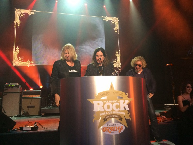 Classic Rock Awards Last Night Sammy Hagar The Red Rocker