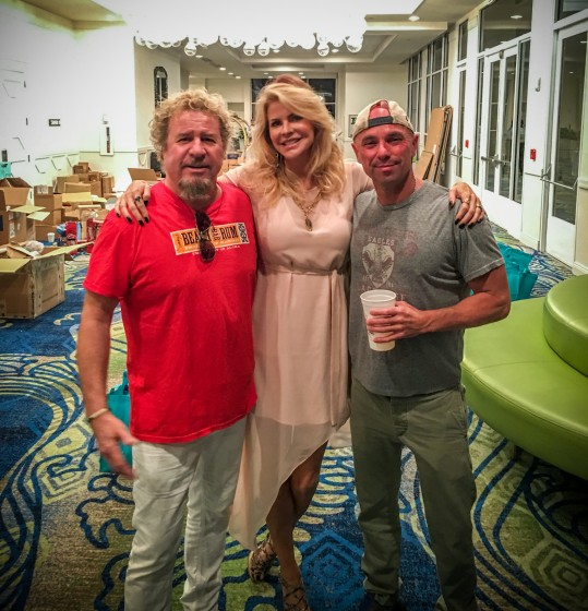 539f3b83 Emeril's Line, Vine & Dine Fundraiser + Surprise visit by Kenny Chesney and  Zac Brown