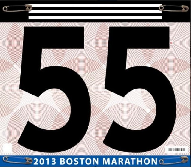 I Can't Run 55 2013 Boston Marathon Tribute