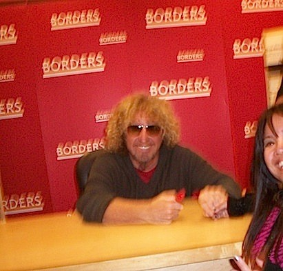 Sammy Hagar Book Tour 2011