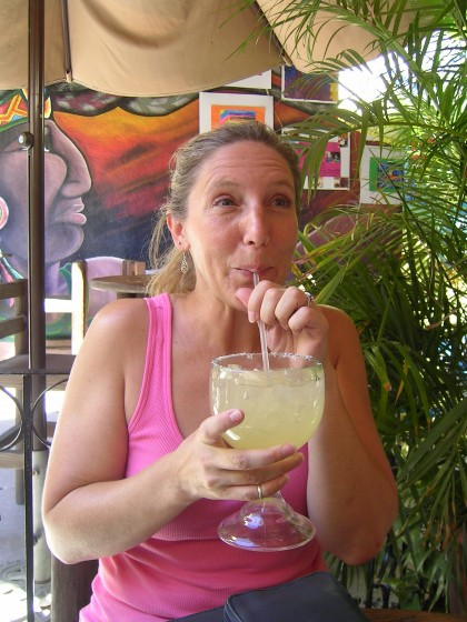 Margaritas in Cabo at CWC 2010