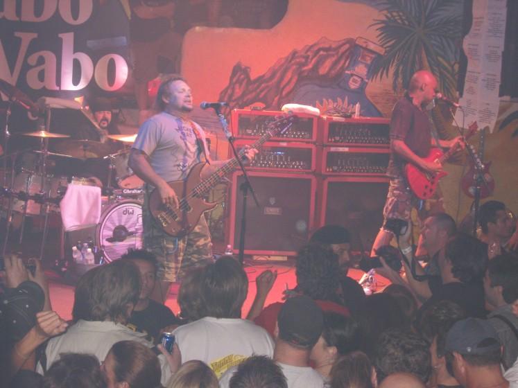 Rockin at the cabo wabo