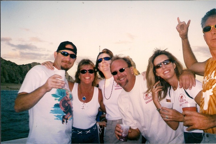 The gang from 2004 Cabo trip