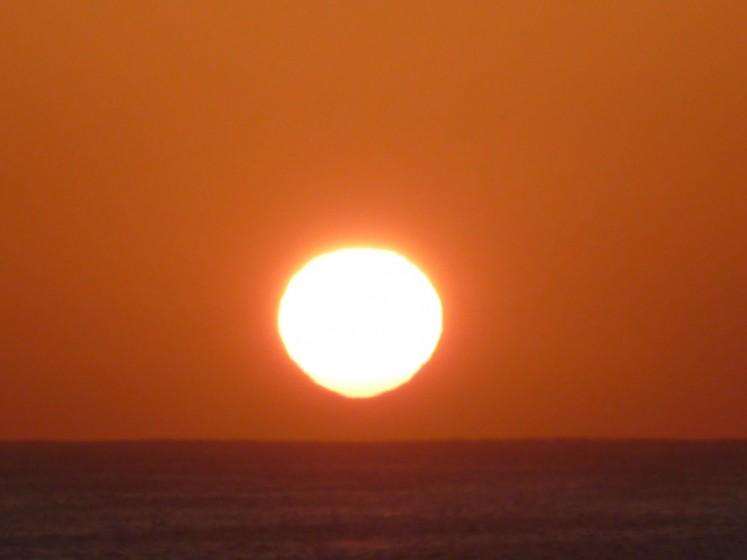 cabo sun rise
