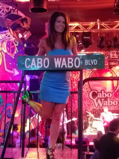 Cabo Wabo!