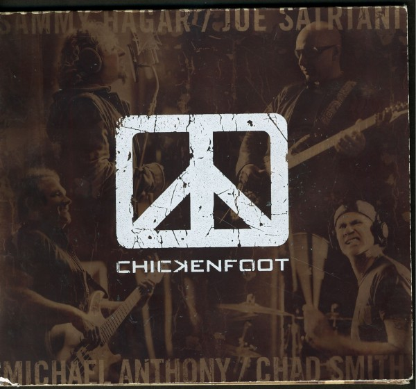 Peace Man Chickenfoot Members, your voted GOLD in Canada! oh ya!