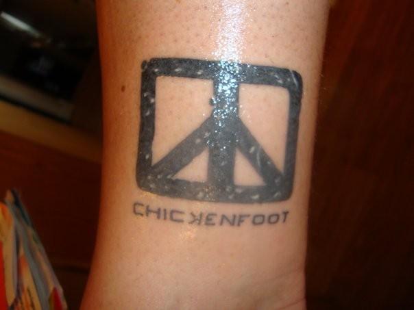 Chickenfoot tat