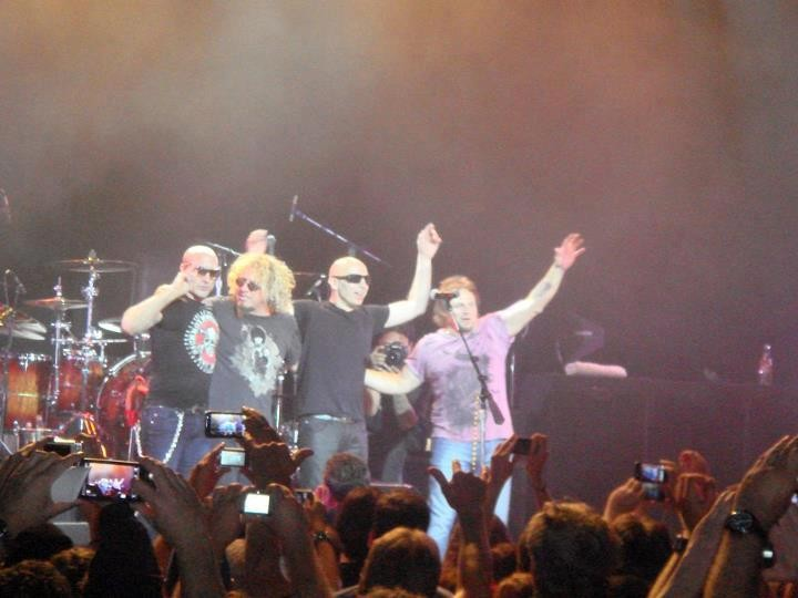 Chickenfoot at Greek Theater