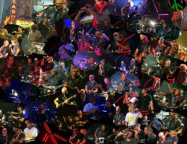 Chickenfoot Collage 08/07/09