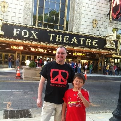 "The ""Fabulous Fox"" Theater in St.Louis 5/23/2012"