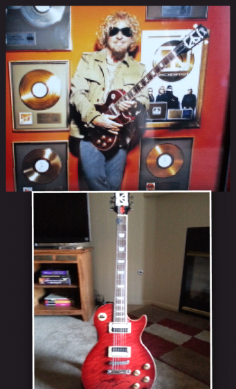 My replica Chickenfoot Les Paul