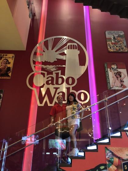 Happy Birthday @ Cabo Wabo Las Vegas