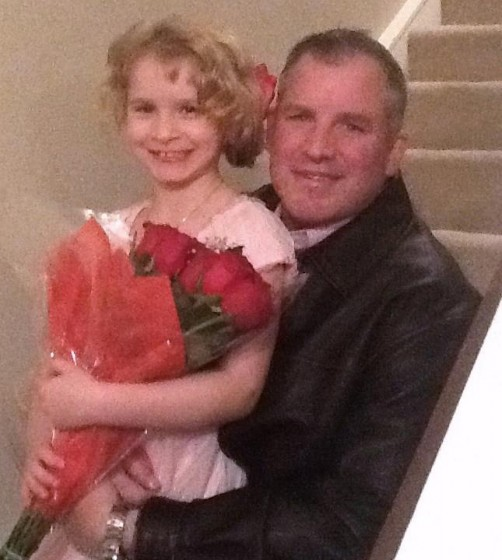 "Daddy and Daughter ""RED"" Party Dance - Valentines Day 2013"