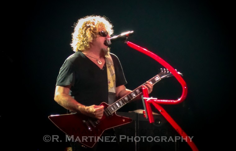 Sammy with Chickenfoot in Vegas!!!!