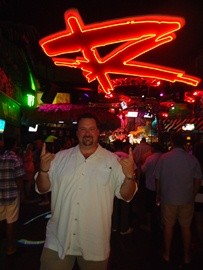 "Under the ""R"" at the Cabo Wabo Cantina 2012"