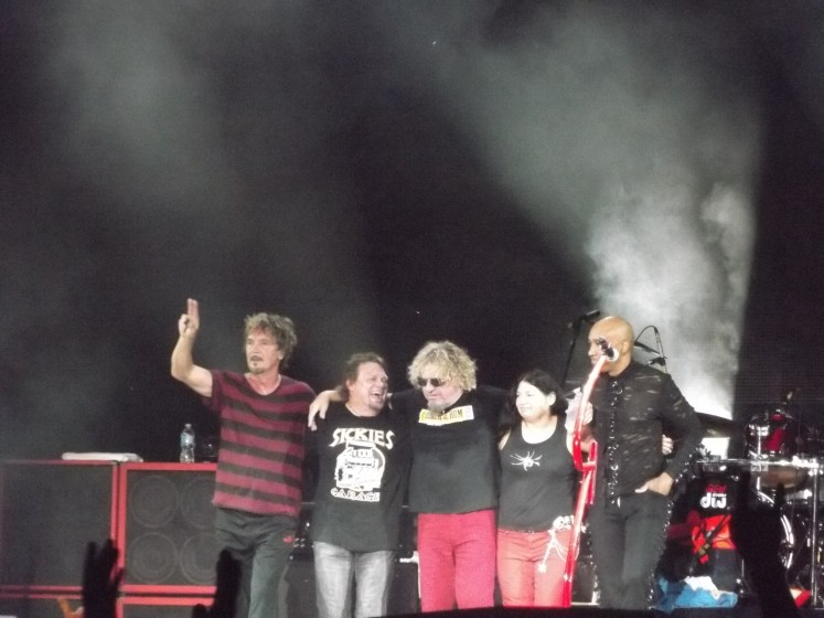 End of Show 8/23/13 Chicago