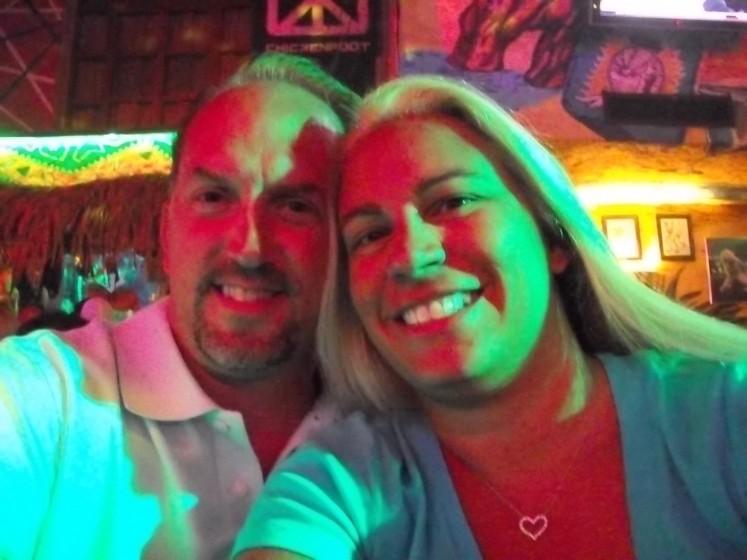 Jenn and I at Cabo Wabo!!