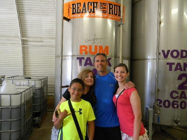 Sammys BBR distillery Maui 2013