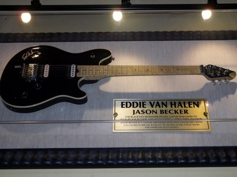 Ed's Wolfgang Guitar, Hard Rock Cafe In San Fransico