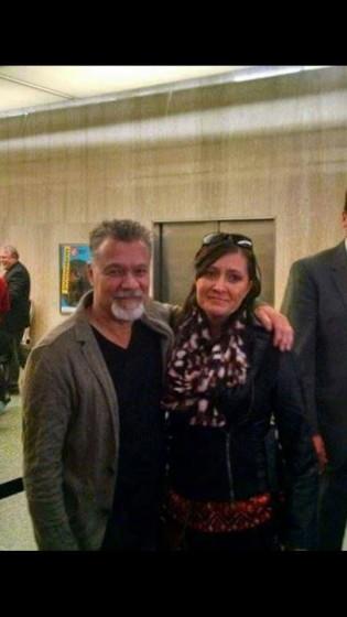 Eddie Van Halen- Smithsonian- Washington D.C.