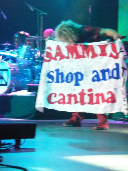 sammys shop and cantina banner sammy fantasy springs