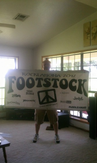 Banner- Check, best Redhead friends-check-Ready to Rocklahoma check!