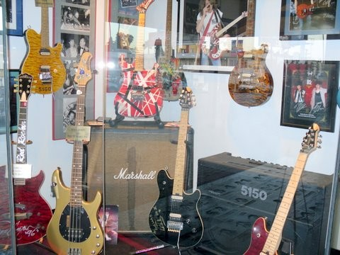 All Van Halen Guitars, Guttar Walk In Hollywood