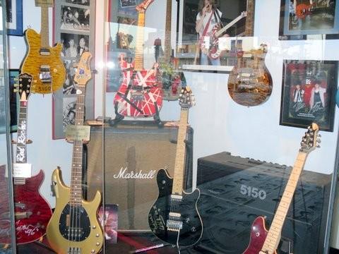 All Van Halen Guitars, Guttar Walk In Hollywood