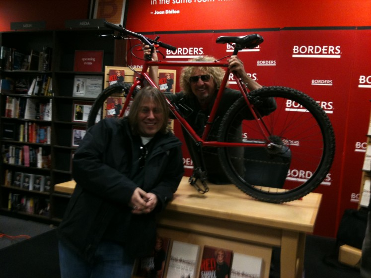 Sammy Hagar&#039;s Original Mountain Bike - The Red Rocker