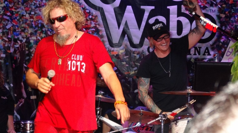 Sammy and Matt Sorum