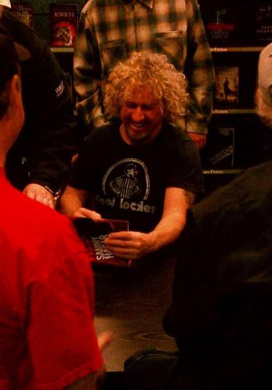 Sammy Book Signing in HB, Cali