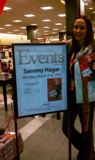 Sammy Book Signing - HB, Cali