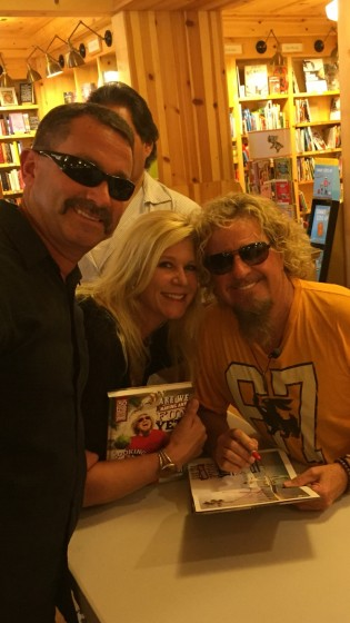 Are we having fun yet book signing, Larkspur, Ca