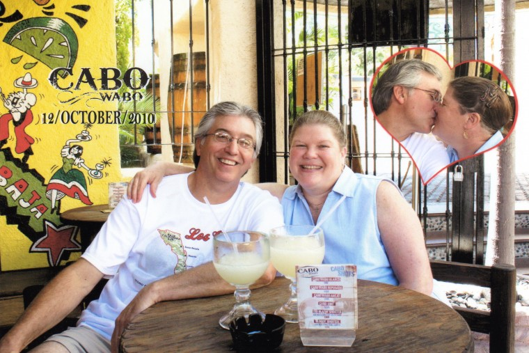 """Randy and Lynnie Having An Awesome Time At The Cabo Wabo Cantina In Cabo San Lucas!"""