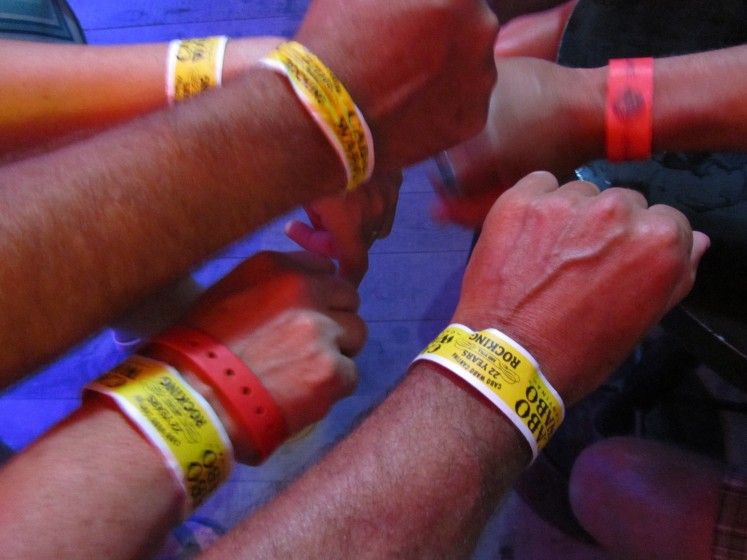 High hopes for 2013 wrist band