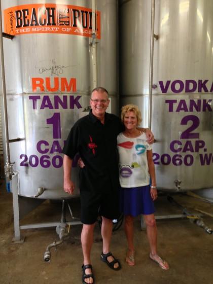 Sammys Beach Rum Distillery!